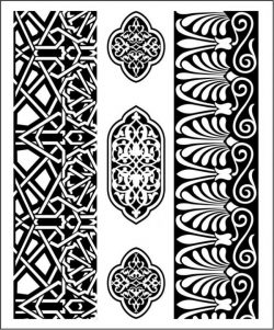Wood carving art mdf file cdr and dxf free vector download for CNC cut