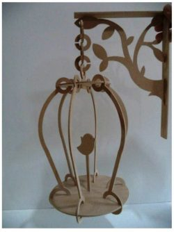 Wooden bird cage file cdr and dxf free vector download for Laser cut CNC