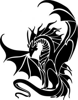 ancient dragons file cdr and dxf free vector download for printers or laser engraving machines