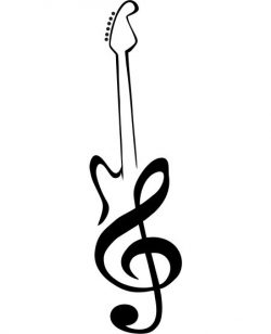 art guitar file cdr and dxf free vector download for Laser cut plasma
