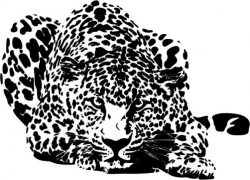 art panther file cdr and dxf free vector download for Laser cut Plasma file Decal