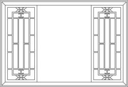 Back door frame partition garden file cdr and dxf free vector download for Laser cut CNC