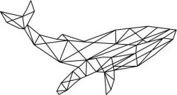 blue whale art file cdr and dxf free vector download for Laser cut plasma