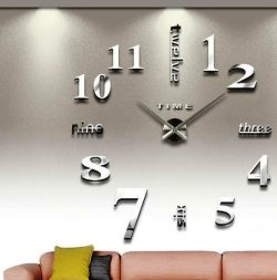 clock decorated living room file cdr and dxf free vector download for Laser cut CNC
