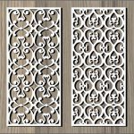 crocheted flower pattern file cdr and dxf free vector download for Laser cut CNC