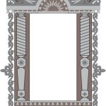decorate the eagle window free vector download for Laser cut CNC
