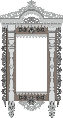 decorate the temple-shaped window free vector download for Laser cut CNC