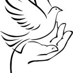dove wing icon file cdr and dxf free vector download for print or laser engraving machines