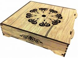 engraving box with laser download free vector