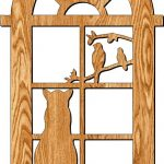 cat door frame partition file cdr and dxf free vector download for Laser cut plasma