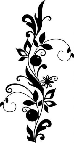 Passion fruit flower file cdr and dxf free vector download for Laser cut plasma