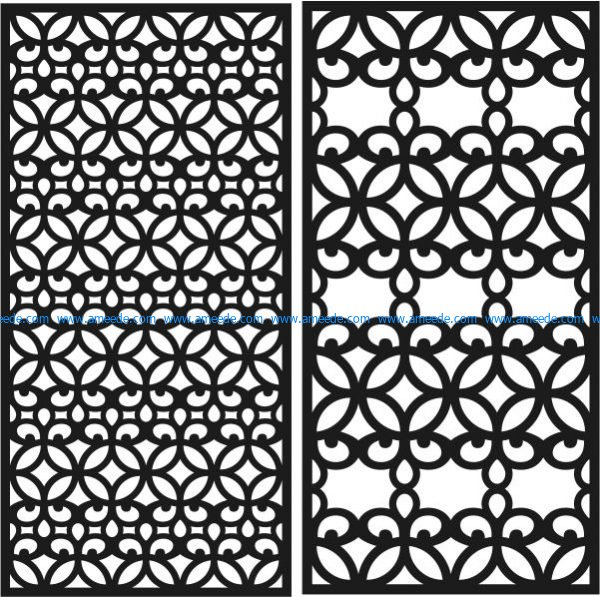 kitchen partition file cdr and dxf free vector download for Laser cut CNC