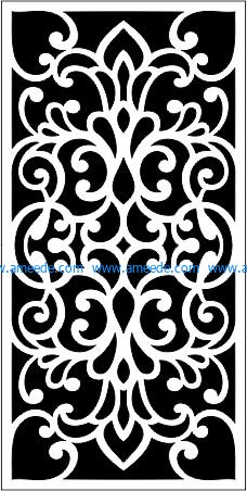 living room decoration pattern file cdr and dxf free vector download for Laser cut CNC