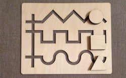 maze game file cdr and dxf free vector download for Laser cut cnc