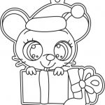 mouse and gift box file cdr and dxf free vector download for printers or laser engraving machines