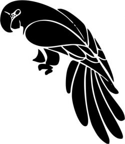 multicolored parrot file cdr and dxf free vector download for printers or laser engraving machines
