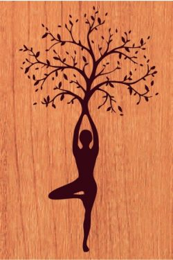 promote the yoga movement file cdr and dxf free vector download for print or laser engraving machines
