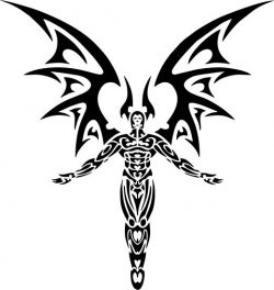 satan devil file cdr and dxf free vector download for print or laser