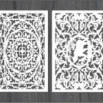 screen wind pattern bear file cdr and dxf free vector download for Laser cut CNC