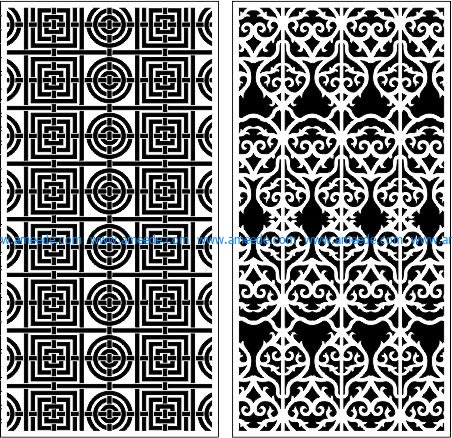 seamless texture baffles file cdr and dxf free vector download for Laser cut CNC