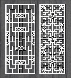 square frame bulkhead file cdr and dxf free vector download for Laser cut CNC