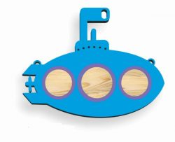 submarine toy for children file cdr and dxf free vector download for Laser cut CNC