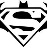 superman and batman file cdr and dxf free vector download for printers or laser engraving machines