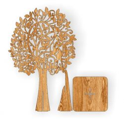 the assembly tree file cdr and dxf free vector download for Laser cut CNC