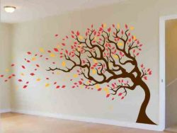 the decorated tree in the room file cdr and dxf free vector download for print or laser engraving machines