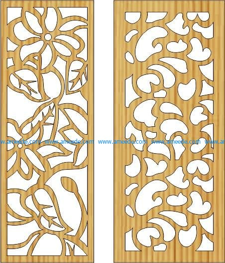 wall of rose thorns file cdr and dxf free vector download for Laser cut CNC