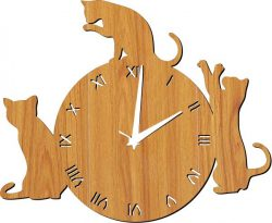 watch 3 black cats file cdr and dxf free vector download for Laser cut plasma