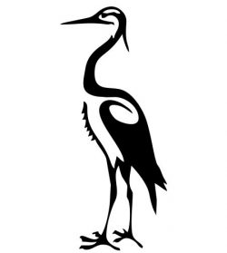 white egret image file cdr and dxf free vector download for Laser cut plasma
