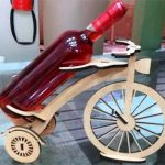 wine bike file cdr and dxf free vector download for Laser cut CNC