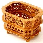 wooden baskets for storage file cdr and dxf free vector download for Laser cut CNC