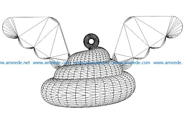 3D illusion led lamp Holy shit free vector download for laser engraving machines