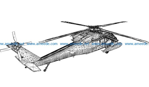 3D illusion led lamp Military aircraft free vector download for laser engraving machines