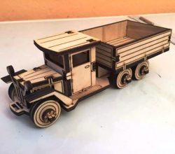 Antique truck file cdr and dxf free vector download for Laser cut