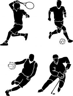 Athlete file cdr and dxf free vector download for print or laser engraving machines