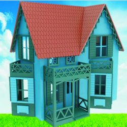 Betsy Hagar House file cdr and dxf free vector download for Laser cut