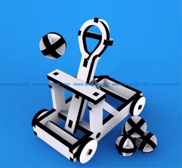 Catapult file cdr and dxf free vector download for Laser cut