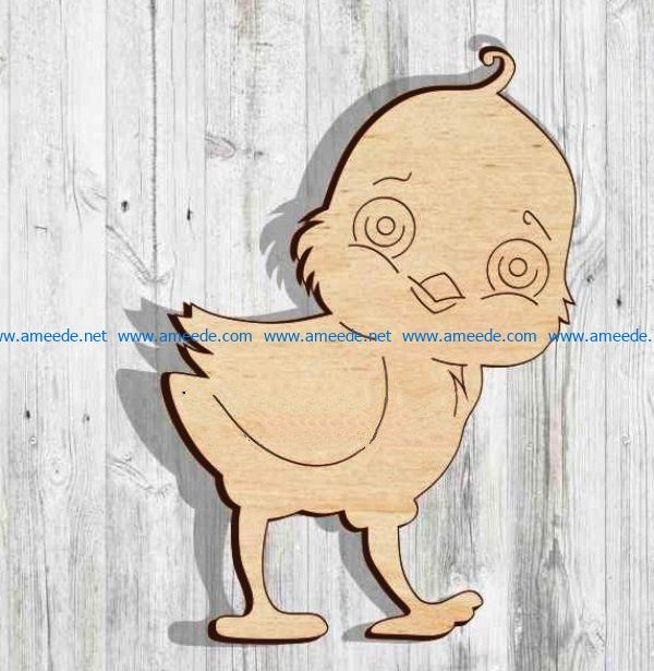 Chicken file cdr and dxf free vector download for Laser cut
