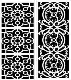 Design pattern panel screen E0006159 file cdr and dxf free vector download for Laser cut CNC