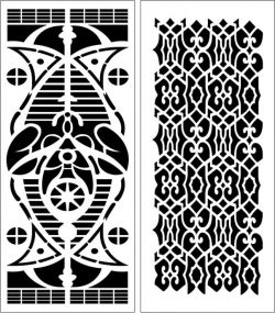 Design pattern panel screen E0006160 file cdr and dxf free vector download for Laser cut CNC