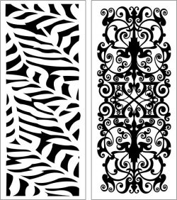 Design pattern panel screen E0006161 file cdr and dxf free vector download for Laser cut CNC