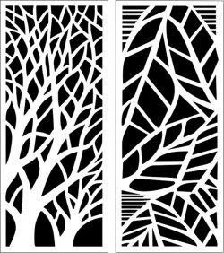 Design pattern panel screen E0006199 file cdr and dxf free vector download for Laser cut CNC