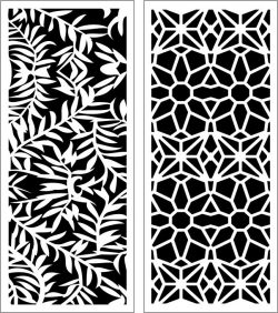 Design pattern panel screen E0006200 file cdr and dxf free vector download for Laser cut CNC