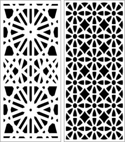 Design pattern panel screen E0006202 file cdr and dxf free vector download for Laser cut CNC