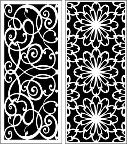Design pattern panel screen E0006390 file cdr and dxf free vector download for Laser cut CNC