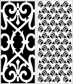 Design pattern panel screen E0006391 file cdr and dxf free vector download for Laser cut CNC
