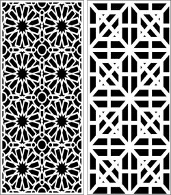Design pattern panel screen E0006394 file cdr and dxf free vector download for Laser cut CNC